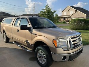 2012 Ford F-150 4x4 Super Cab with 8' box
