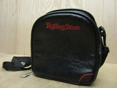 Rolling Stone 12 CD Sleeves for Portable Player Case with Guitar Zipper Pulls