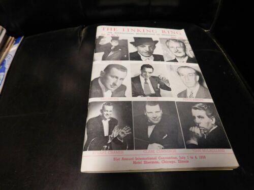 The Linking Ring Magic Magazine Magician George Jayson, Dai Vernon May 1959