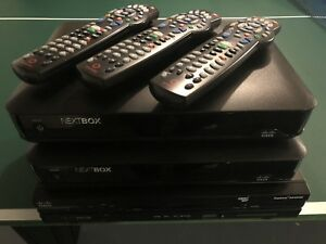 Rogers Cisco NextBoxes, two 9865 and one 4642 Digital Terminals