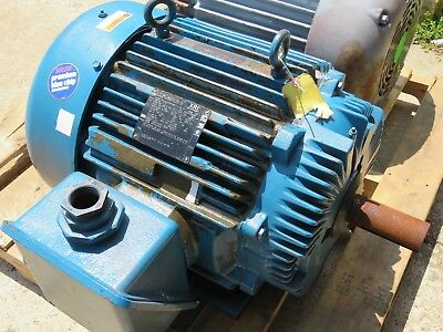 Marathon Electric Motor Xri 75 Hp 365t 460v 1780 Rpm Rpm E627 Rebuilt