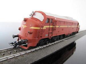 Aus Märklin 29660 Norwegische Diesellok NOHAB Di 3, mfx  + Sound, neu