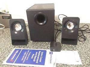 Logitech Z213 2.1 Compact Speaker System used twice receipt etc Gosford Gosford Area Preview