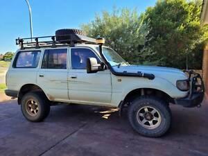 1997 Toyota Landcruiser (4x4) 5 Sp Manual 4x4 4d Wagon