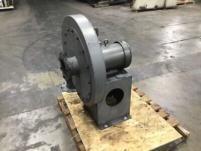 Cincinnati Fan Hp-6c22 High Pressure Blower 15 Hp 3450 Rpm 3 Ph M3713t 7042dk