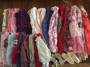 Girls clothing lot. $100 for 89 items size 5/6/7