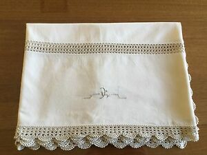 Vintage embroidered tablecloth $25 Altona Meadows Hobsons Bay Area Preview