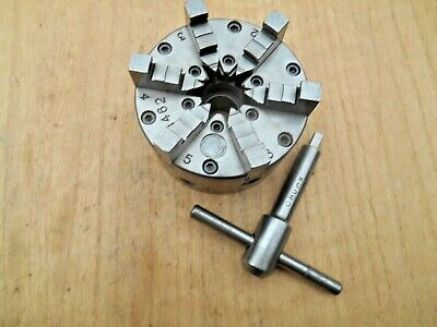 Buck 4  6 Jaw Lathe Chuck 1462 With Key