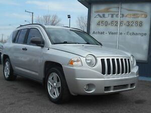 Jeep Compass SPORT 2007 ***MAGS,AIR CLIMATISE***