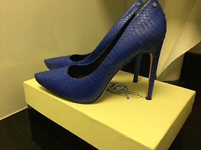RACHEL ROY GARDNER, Blue Snakeskin Pumps, Size 9M, Platform for sale  New York