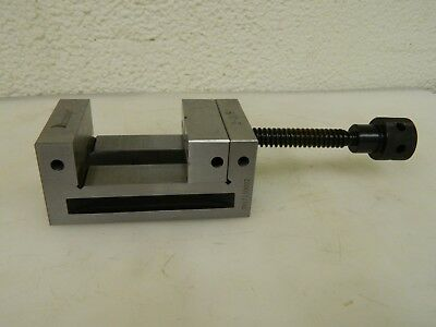 Interstate Toolmakers Vise 2-38 Jaw Width 2-18 Jaw Opening Cap 09287624