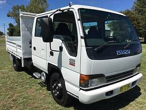 2003 Isuzu NPR 400 4x2 Crewcab Tipper Truck Inverell Inverell Area Preview