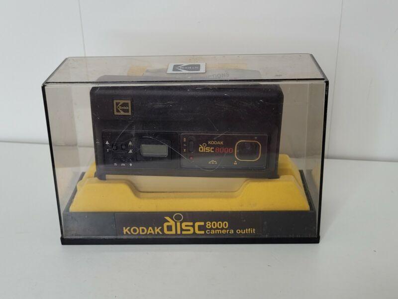 VTG Kodak Disc 8000 Camera Outfit With Kodacolor VR film for Color Prints Case