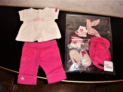 Show Girl Outfits (NWT American Girl Fashion Show Outfit, Accessories for Dolls & Girls SIZE S or)