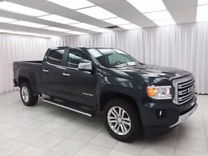 2018 GMC Canyon SLT V6 4x4 4DR 5PASS CREW CAB w/ BLUETOOTH, HEAT