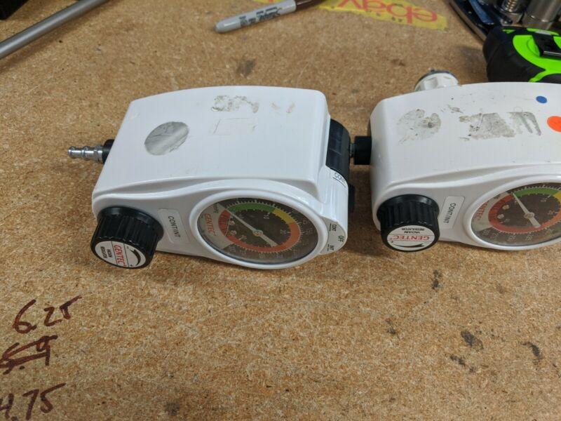 Gentec lot of 2  VACUUM REGULATOR units 881VR-300-oh-D for parts