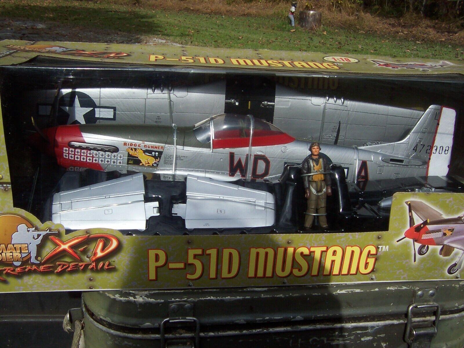 ultimate soldier XD P-51D Mustang 1:18 Ridge Runner