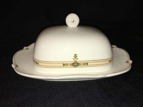 Villeroy & Boch MONTSERRAT Covered Butter Dish Vintage West Germany