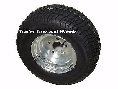 Kenda Loadstar Trailer Tire 20.5x8-10 Galvanized Wheel 205/65-10 LRE 5 Lug  - Loadstar Trailer Tire
