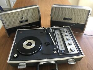 Vintage National Panasonic Radio Record Player