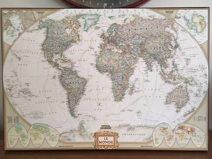 Tapestry old world map art gumtree australia fremantle area executive world map canvas french gumiabroncs Choice Image