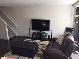 Premium 3 bedroom townhouse with finished basement for rent