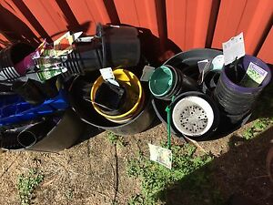 Plastic pots bulk lot Gordon Moorabool Area Preview