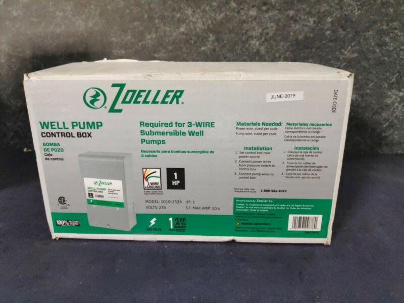 Zoeller 230v Well Pump Control Box - Model 1010-2338