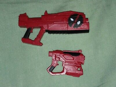 Deadpool 12 inch weapons lot blasters guns weapons Marvel Hasbro Legends