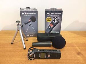 Zoom H1 handy recorder + Accessory pack Meadowbank Ryde Area Preview