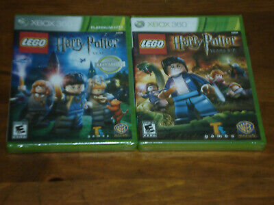 LEGO Harry Potter: Years 1-4 Microsoft Xbox 360 New Factory Sealed