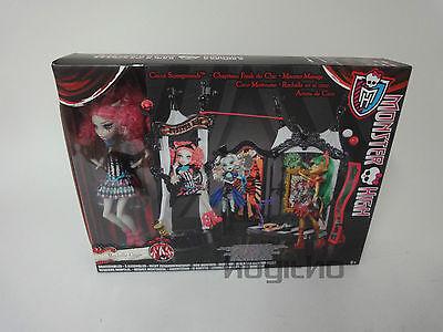 NEU/OVP Mattel Monster High CHW68 Rochelle Goyle Puppe Modepuppe Zirkus Show
