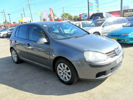 2006 Volkswagen Golf 2.0L 6 SPEED AUTOMATIC 5D Hatchback GREY Lansvale Liverpool Area Preview