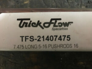 Trick flow pushrods