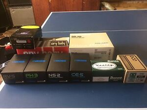 Guitar Effect Pedals and Gigrig G2 Kit Condell Park Bankstown Area Preview