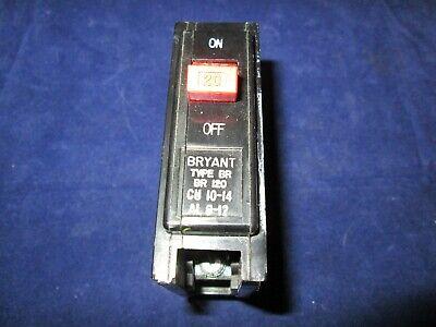 Cutler Hammer Bryant 20 Amp 1p Circuit Breaker Catalog Br120