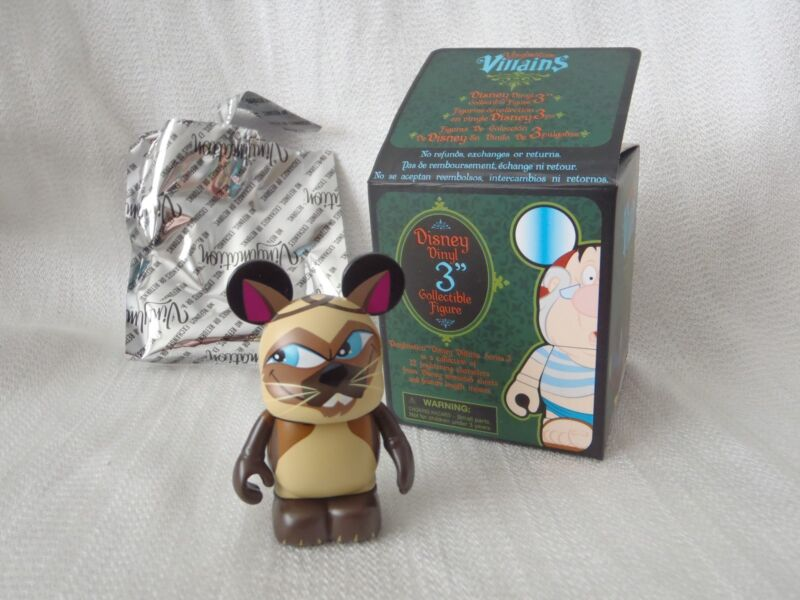 """Disney Vinylmation Villains Series 3 Lady And The Tramp SI and AM CATS 3"""" Figure"""