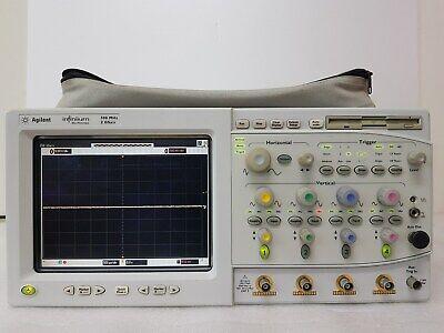 Agilent 54825a Infinium Oscilloscope 4ch 500mhz 2gss