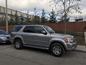 2004 Toyota Sequoia Limited - truck 214km - nice