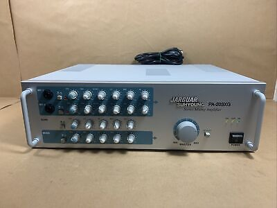 Jarguar Suhyoung PA-203XG Stereo Mixing Amplifier