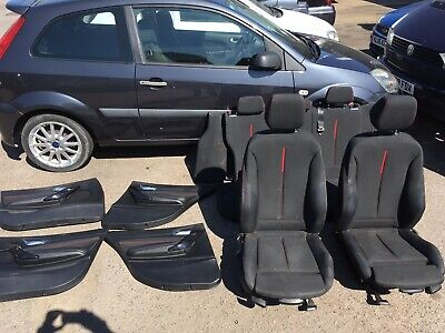 2012-2015 BMW 1 Series F20 5dr Sport Seats Interior Red Stitch Delivery Poss