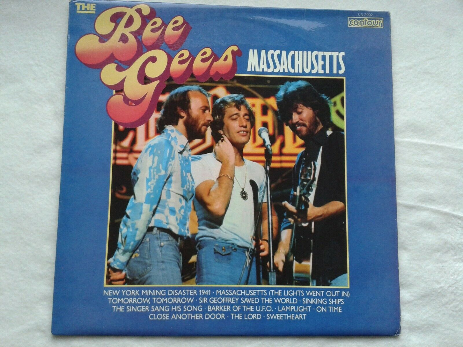LP THE BEE GEES  MASSACHUSETTS
