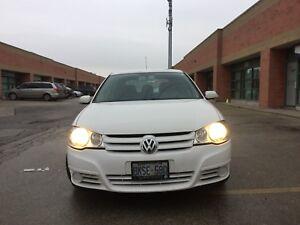 2010 White Volkswagen City Golf