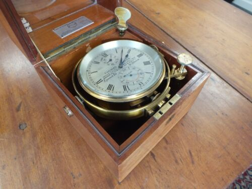 Antique Thomas Mercer Marine Chronometer