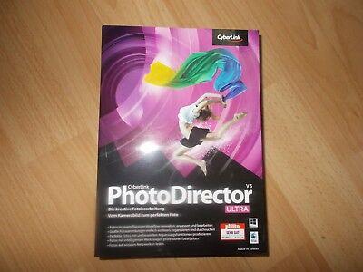 Cyberlink PhotoDirector 5 Ultra EAN: 4711162035514 neu