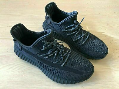 Adidas Yeezy 350 V2 Black Non Reflective FU9006 UK 10.5, US 11, EUR 45.5