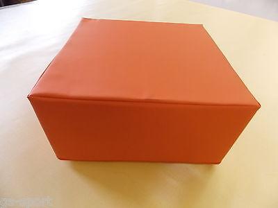 Lagerungswürfel, Positurkissen, Bandscheiben-Würfel - 40x40x20 cm - orange*