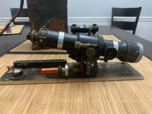 Vintage Gurley Alidade With Box MCS2020xx