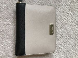 Kate Spade wallet (taupe and black)