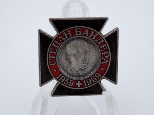 Original 1969 Stepan Bandera Commemorative Badge Ukrainian Nationalist UPA/OUN-B